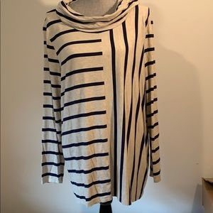 Chico's size 3 cowl neck shirt